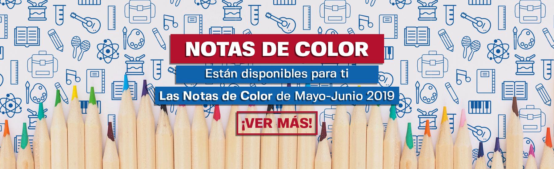 Notas de Color - Mayo Junio