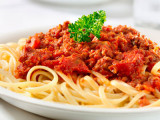 Spaguettis Bologñesa